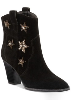 Anna Sui x Inc International Concepts Dazzlerr Western Ankle Booties, Created for Macy's Women's Shoes
