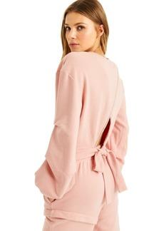 INC International Concepts Culpos X Inc Cutout-Back Sweatshirt, Created for Macy's