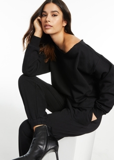 INC International Concepts Culpos x Inc Off-The-Shoulder Knit Top, Created for Macy's