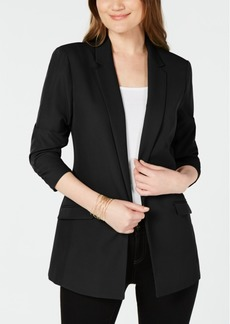 INC International Concepts I.n.c. Petite Ruched-Sleeve Blazer, Created for Macy's