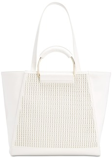 INC International Concepts Inc Ajae Bangle Crochet Tote, Created for Macy's