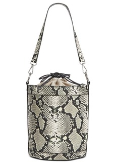 INC International Concepts Inc Ajae Snake Bucket Bag, Created For Macy's