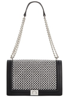 INC International Concepts Inc Ajae Woven Flap Crossbody, Created For Macy's