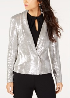 INC International Concepts I.n.c. Allover Sequin Blazer, Created for Macy's
