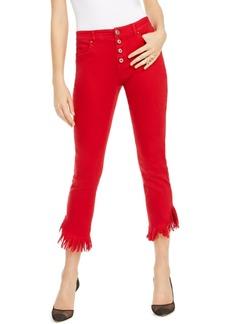 INC International Concepts Inc Angled Mop-Hem Straight-Leg Jeans, Created For Macy's