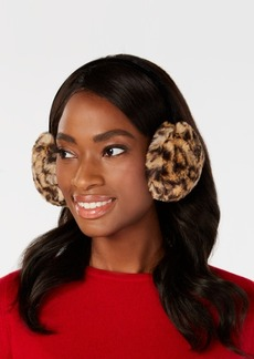 INC International Concepts I.n.c. Animal-Print Faux-Fur Earmuffs, Created for Macy's