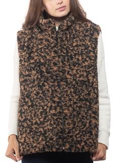 INC International Concepts Inc Animal-Print Faux-Fur Vest, Created for Macy's