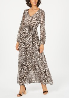 INC International Concepts I.n.c. Animal-Print Maxi Dress, Created for Macy's