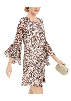 INC International Concepts Inc Animal-Print Shift Dress, Created for Macy's