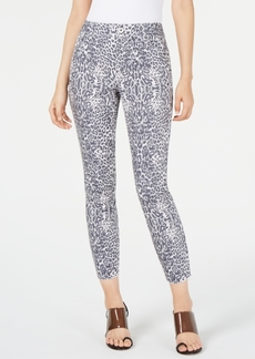 INC International Concepts Inc Animal-Print Skinny Jeans, Created for Macy's