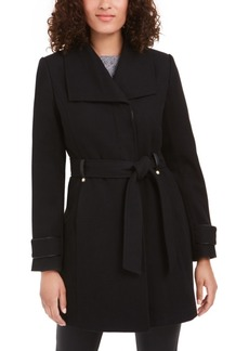 INC International Concepts I.n.c. Asymmetrical Belted Coat, Created For Macy's