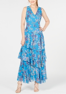 INC International Concepts I.n.c. Asymmetrical Ruffle Maxi Dress, Created for Macy's