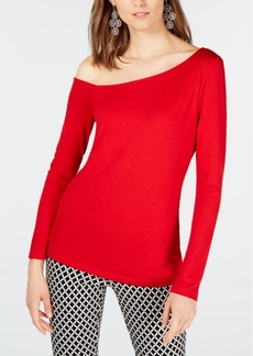 INC International Concepts Inc Asymmetrical Top, Created For Macy's