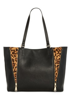 INC International Concepts I.n.c. Averry Side Zip Leopard Tote, Created for Macy's