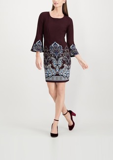 INC International Concepts I.n.c. Bell-Sleeve Shift Dress, Created for Macy's