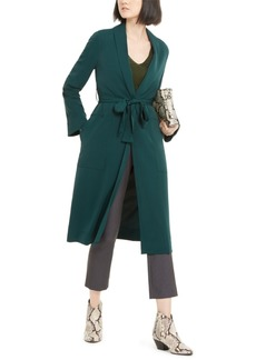 INC International Concepts Inc Belted Draped Trench Coat, Created for Macy's