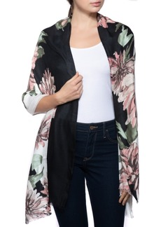 INC International Concepts Inc Bold Floral-Print Pashmina Scarf, Created for Macy's