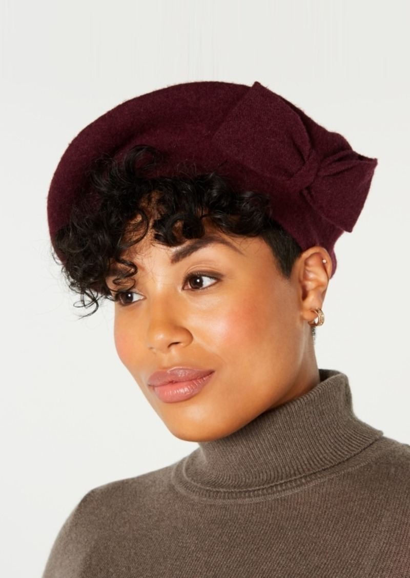 INC International Concepts Inc Bow Beret, Created for Macy's