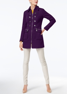 INC International Concepts I.n.c. Button-Trim Coat, Created for Macy's
