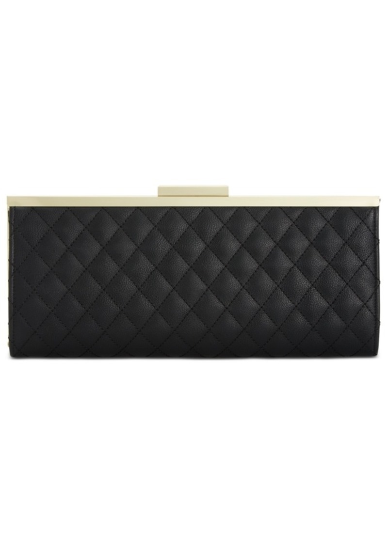 INC International Concepts Inc Carolyn Quilted Clutch, Created for Macy's