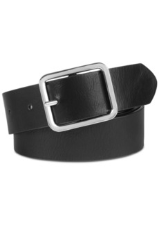 INC International Concepts Inc Casual Solid Plus-Size Belt, Created for Macy's