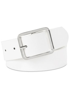 INC International Concepts Inc Casual Solid Belt, Created for Macy's