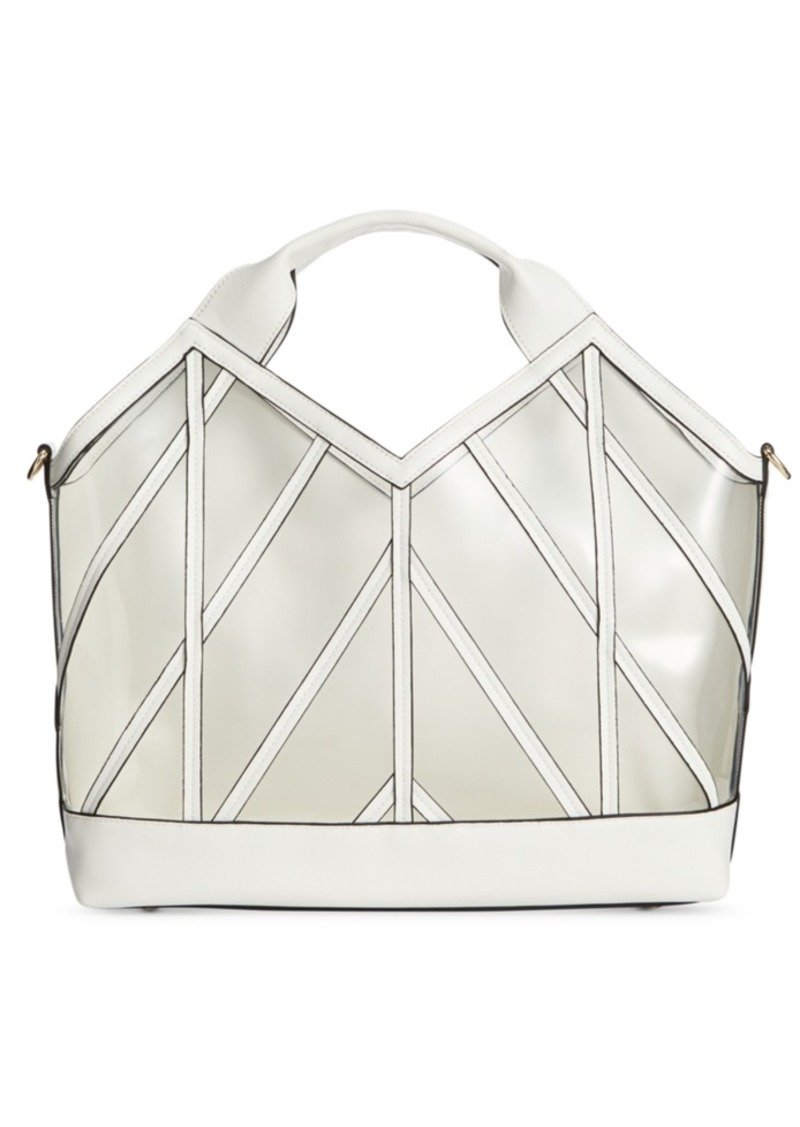INC International Concepts Inc Clear Satchel, Created for Macy's