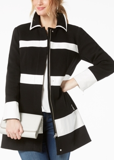 INC International Concepts I.n.c. Colorblocked Ponte Knit Coat, Created for Macy's