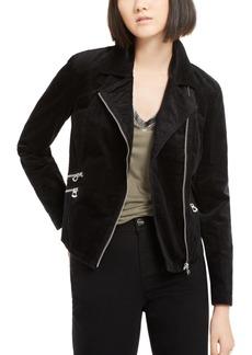 INC International Concepts Inc Corduroy Moto Jacket, Created for Macy's
