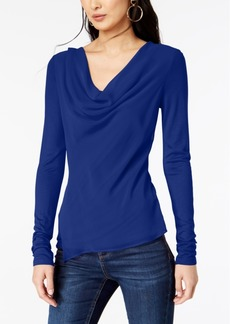 INC International Concepts I.n.c. Cowl-Neck Top, Created for Macy's