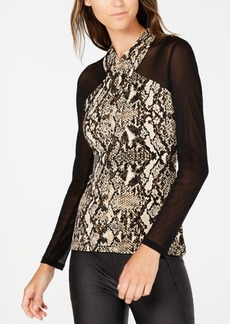 INC International Concepts Inc Crisscross Illusion Top, Created for Macy's