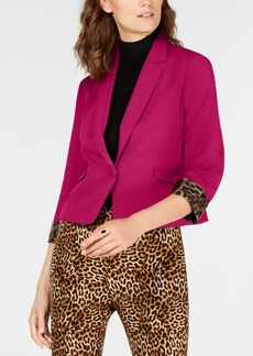 INC International Concepts I.n.c. Cropped Blazer, Created for Macy's