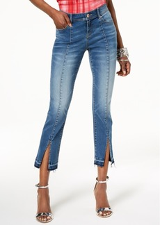 I.n.c. Petite Released-Hem Ankle Jeans, Created for Macy's
