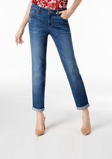 INC International Concepts I.n.c. Cuffed Boyfriend Jeans, Created for Macy's