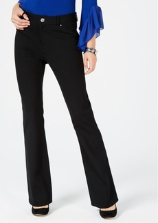 INC International Concepts I.n.c. Petite Ponte Bootcut Pants, Created for Macy's
