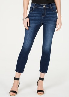INC International Concepts Inc Curvy-Fit Cropped Skinny Jeans, Created for Macy's
