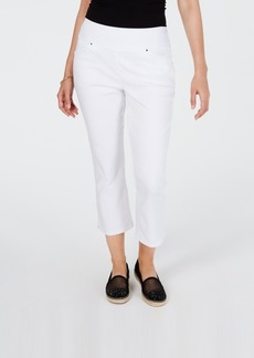 INC International Concepts Inc Curvy Pull-On Skinny Cropped Pants, Created for Macy's