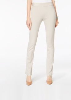 INC International Concepts Inc Curvy Pull-On Straight-Leg Pants, Created for Macy's