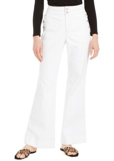 INC International Concepts Inc Curvy Wide-Leg Sailor Trouser Jeans, Created for Macy's
