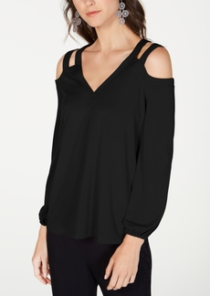 INC International Concepts Inc Cutout Cold-Shoulder Top, Created for Macy's