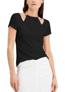 INC International Concepts Inc Cutout Hardware Top, Created for Macy's