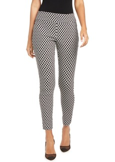 INC International Concepts Inc Curvy-Fit Diamond Jacquard Skinny Pants, Created for Macy's