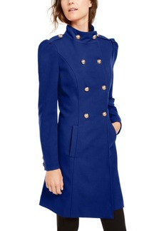 INC International Concepts Inc Double-Breasted Coat, Created For Macy's