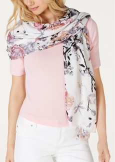 INC International Concepts Inc Dragonfly Garden Soft Wrap, Created for Macy's