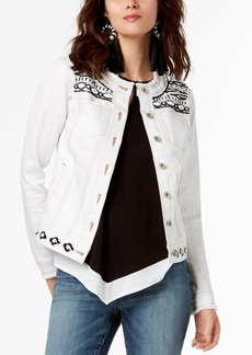 INC International Concepts I.n.c. Embellished Jacket, Created for Macy's