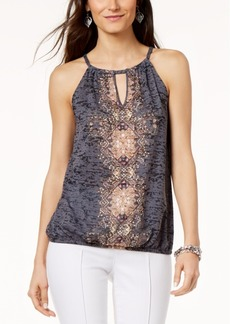 INC International Concepts I.n.c. Embellished Keyhole Top, Created for Macy's