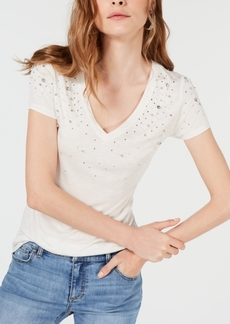 INC International Concepts I.n.c. Petite Embellished T-Shirt, Created for Macy's