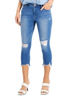 INC International Concepts Inc Essex Cropped Skinny Jeans, Created for Macy's