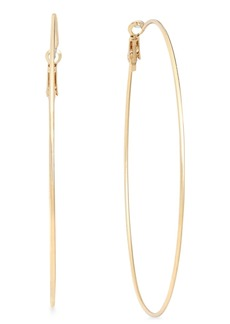 """INC International Concepts Inc Extra Large 3"""" Hoop Earrings, Created for Macy's"""
