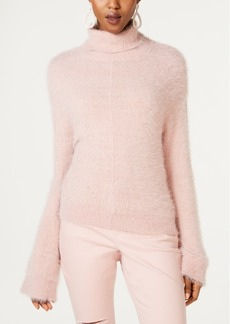 INC International Concepts Inc Eyelash Metallic Turtleneck, Created for Macy's